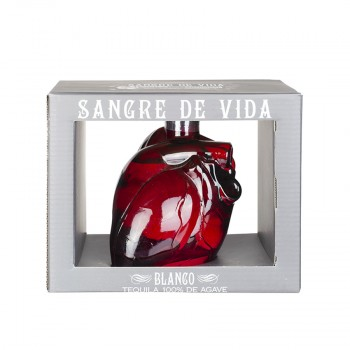 SANGRE DE VIDA Tequila Blanco, 40% vol., 700ml