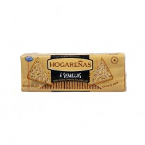 ARCOR - Salzcracker - Galletitas Hogareñas 6 Semillas, 189g