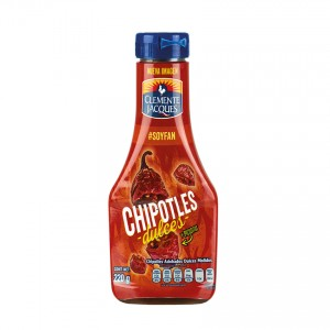 CLEMENTE JACQUES Chipotle Soße - Chilis Chipotles Adobados Molidos 220g