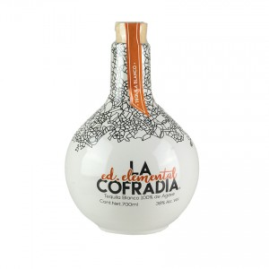 LA COFRADIA Weißer Tequila Elemental Edition Tequila Blanco 700ml 38%vol