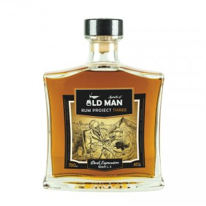 Spirits of OLD MAN Three - Dark Expression Brauner Rum, 700ml, 40%vol