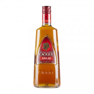 CACIQUE Brauner Rum Ron Añejo 700ml 37,5% vol.