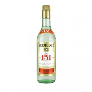 BERMUDEZ Weisser Rum Ron 151, 700ml 72% vol.
