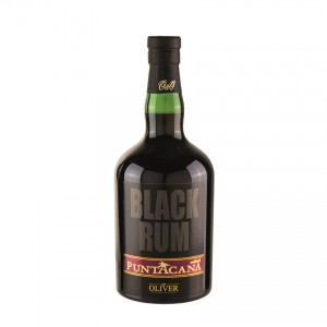 PUNTACANA Club Black Brauner Rum, 700ml, 38% vol.