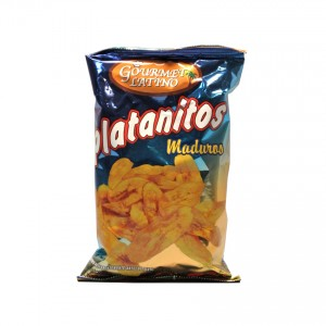 Platanitos Maduros Bananenchips