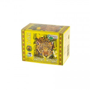 Erva Mate Organica Lemon Ginger 22,5g