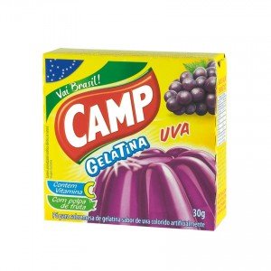 CAMP Wackelpudding Traube Gelatina Uva 30g