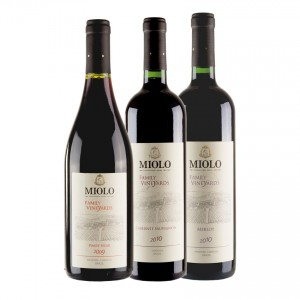 MIOLO Weine Family Vineyards Geschenk-Set Vinos set de regalo