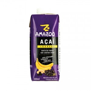 AMAZOO Açaí + Banana 300ml