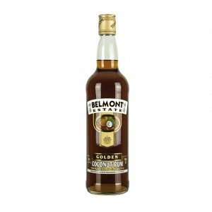 BELMONT ESTATE Golden Coconut Spirit Drink - Spirituose auf Rumbasis mit Kokosaroma 700ml 40%vo