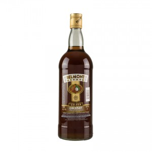 BELMONT ESTATE Golden Coconut Spirit Drink - Spirituose aus Rumbasis mit Kokosaroma,1L 40%vol