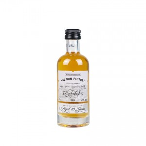 THE RUM FACTORY 10 Years Old, 41 vol., Mini-Flasche 50ml