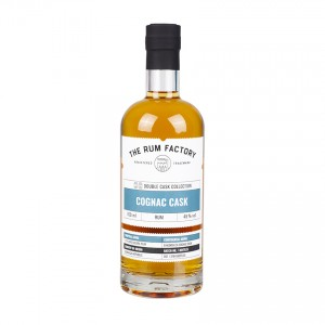 THE RUM FACTORY Double Cask Cognac, 45% vol. 700ml