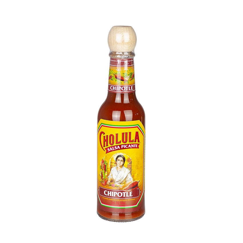 CHOLULA Chili-Sosse Chipotle Salsa Picante Chipotle 150ml