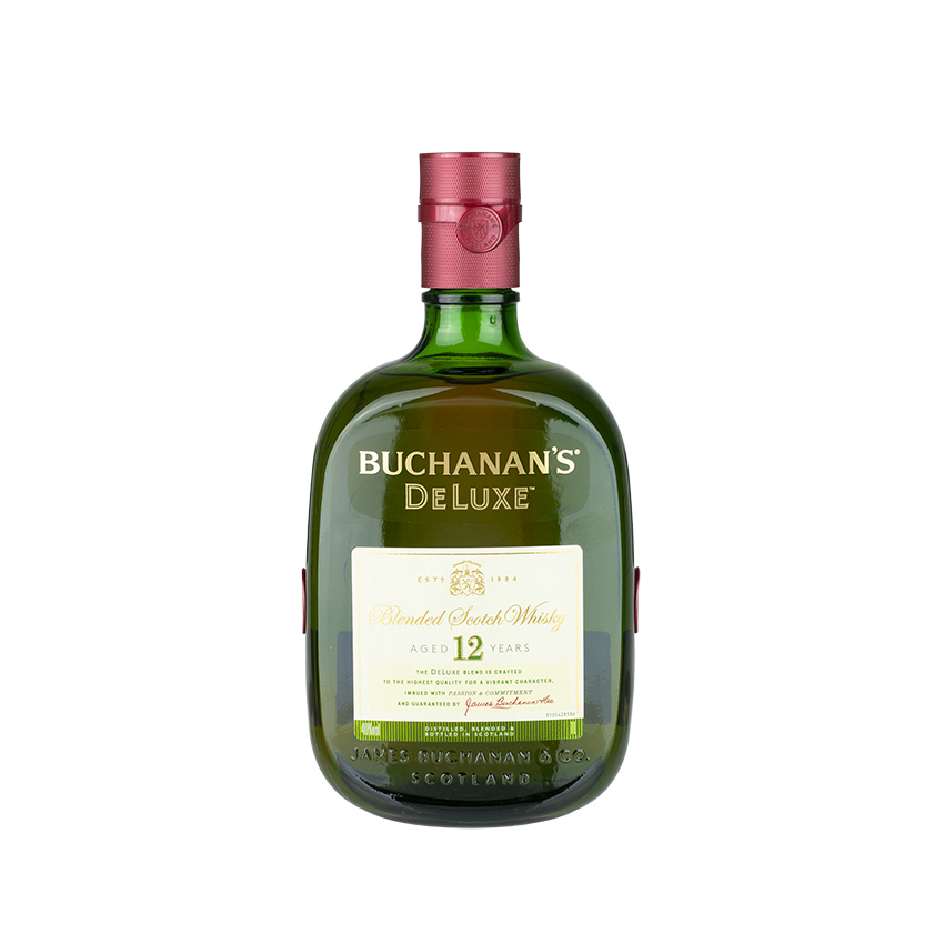 BUCHANAN S DeLuxe Blended Scotch Whisky 1 Liter