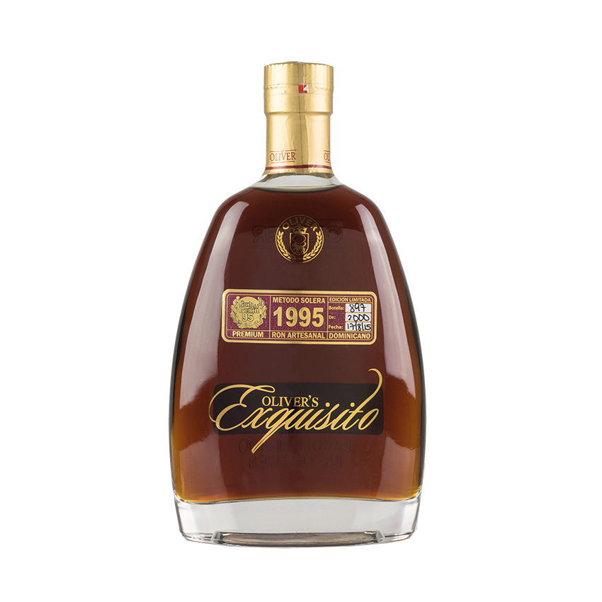 EXQUISITO Super Premium Brauner Rum-12 Jahre- 1995 Ron 1995, 12+Años Solera 700ml 40% vol