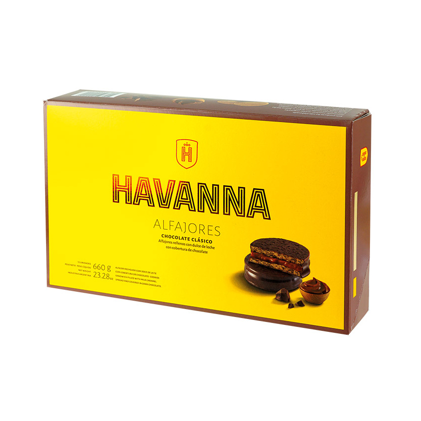 Alfajores HAVANNA Chocolate (12er-Pack) 660g