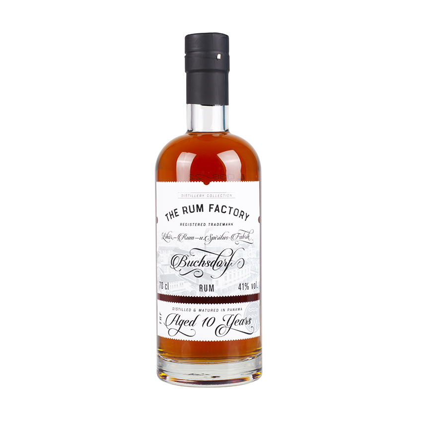 THE RUM FACTORY 10 Years Old, 41% vol., 700ml