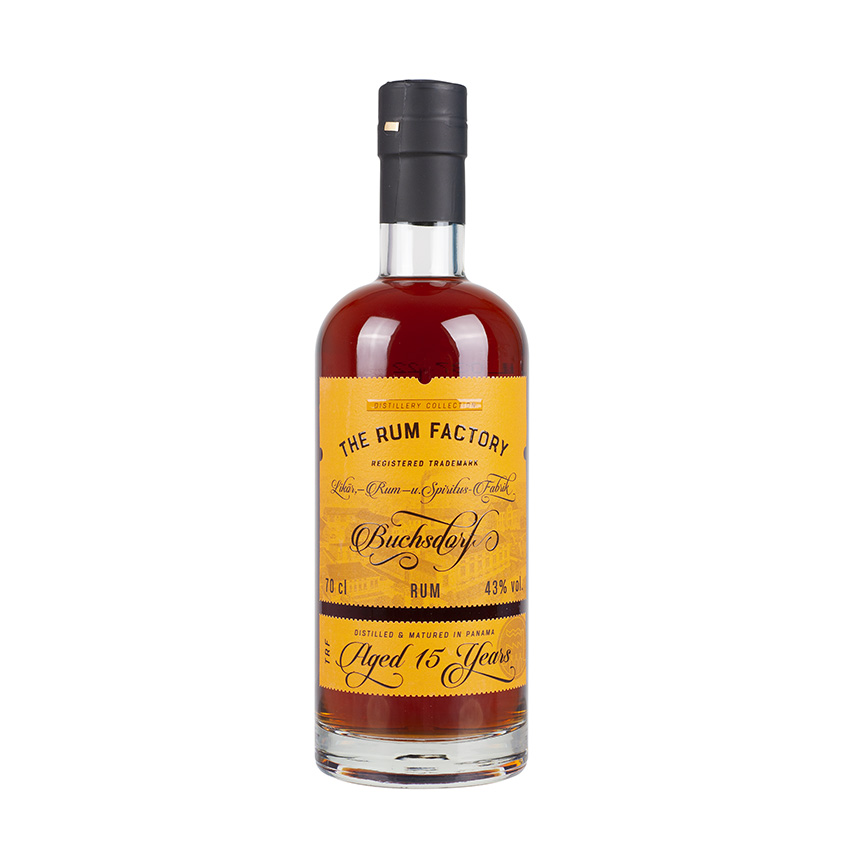 THE RUM FACTORY 15 Years Old, 43 vol., 700ml